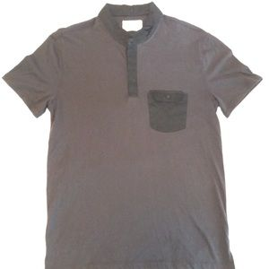 Other - Black Henley shirt